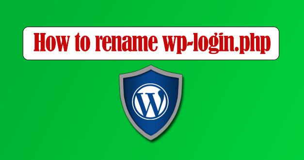 How to rename wp-login.php