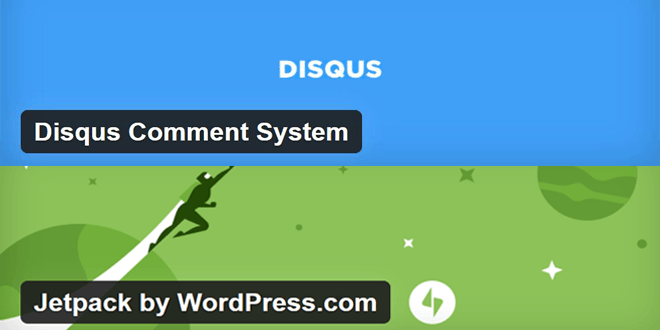 Disqus and Jetpack comments for WordPress