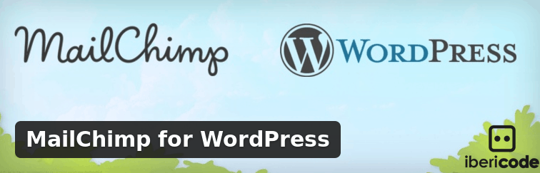 Gain e-mail newsletter subscribers for MailChimp straight from your WordPress website