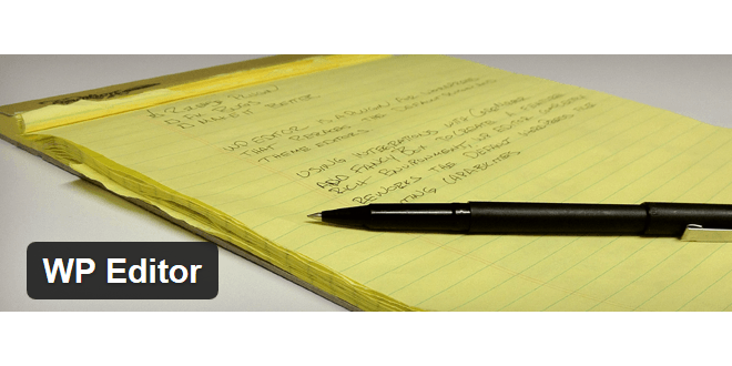 WP Editor – review