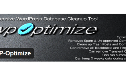 Optimize your WordPress with WP-Optimize