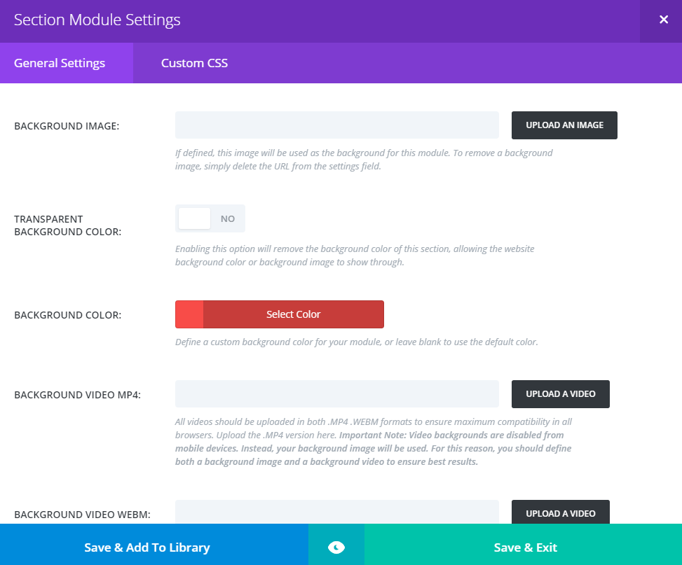 divi-section-settings