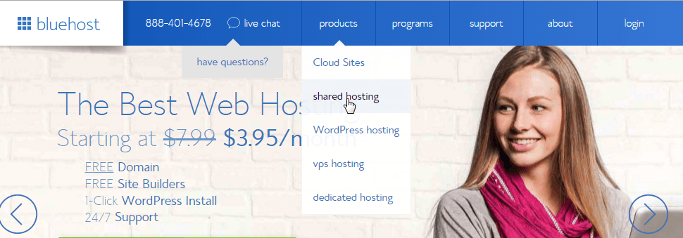 bluehost-products-share-hosting