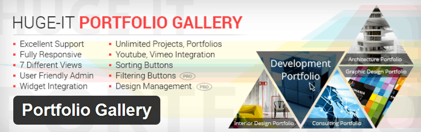 WordPress Portfolio Gallery plugin by Huge-IT