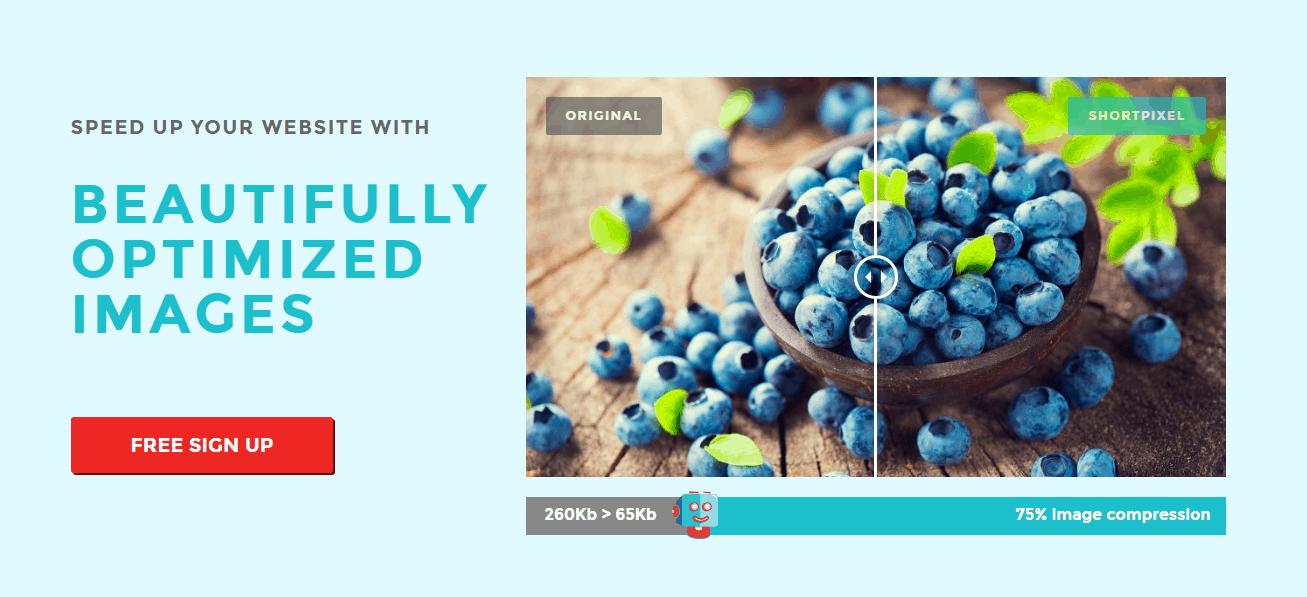 Image Optimization Plugin and API by ShortPixel-free sign up