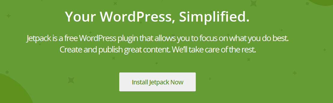 Why you should use Jetpack for WordPress