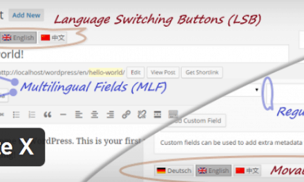 How to create a bilingual website with qTranslate X