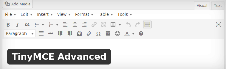 Want a better WordPress Editor? Try TinyMCE Advanced