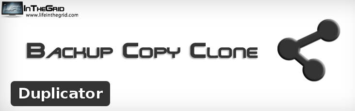 Migrate, backup or clone WordPress with Duplicator
