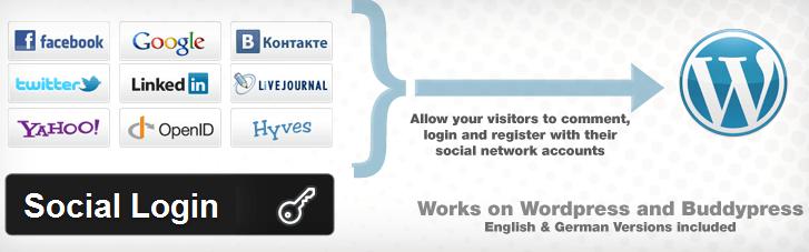 Social Login for WordPress
