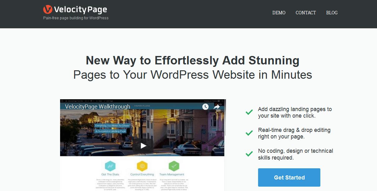 VelocityPage