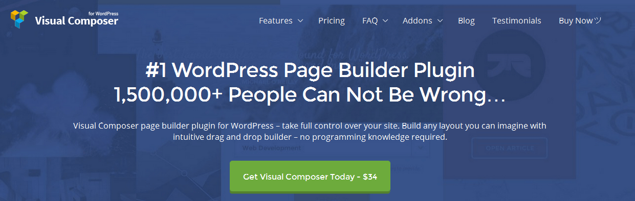 Visual Composer - WordPress Page Builder
