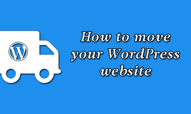How to move your WordPress website