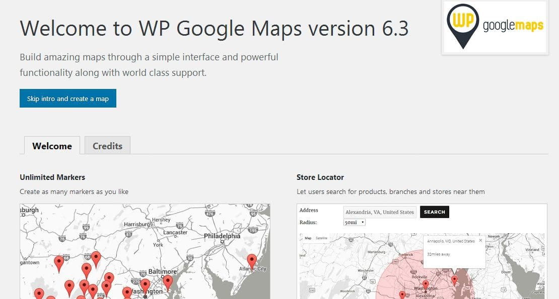 Introduction overview for the capabilities of WP Google Maps