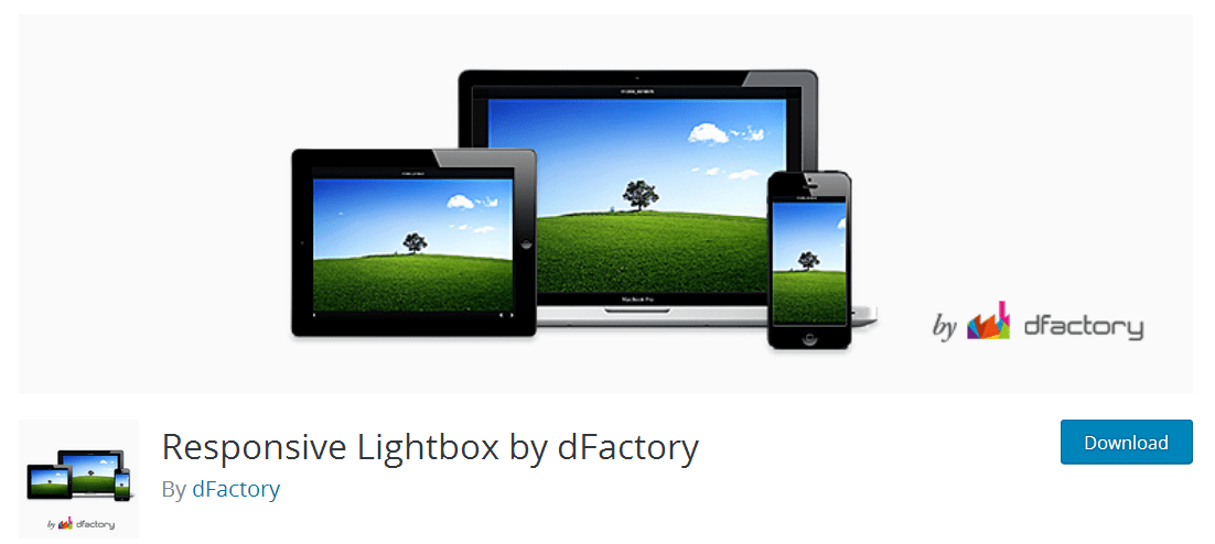 Responsive Lightbox by dFactory - WordPress Plugin
