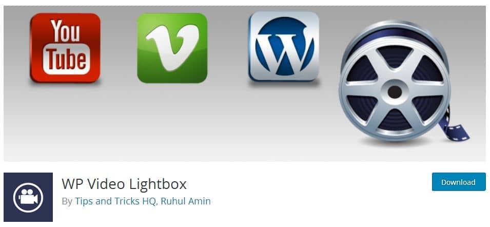 WP VIdeo Lightbox Plugin for WordPress