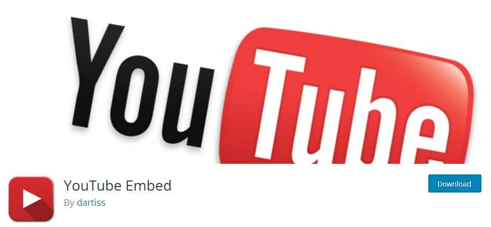 YouTube Embed Plugin for WordPress