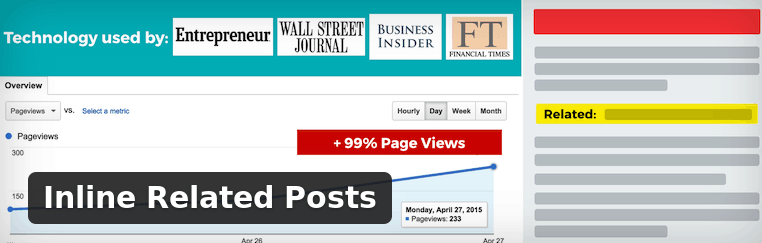 Inline Realated Posts - WordPress Plugin