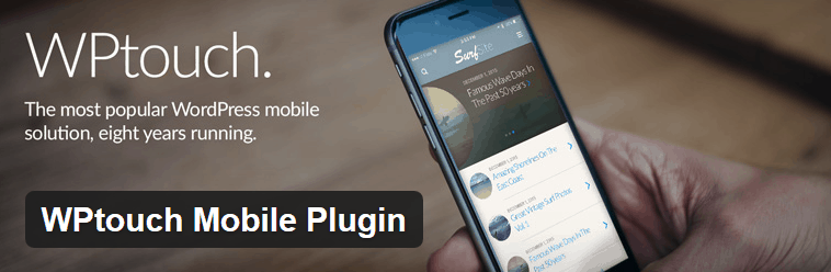 WPtouch - a mobile theme for WordPress
