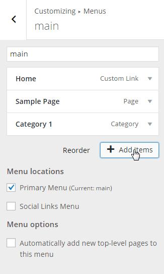 Customize-Menu-Add New