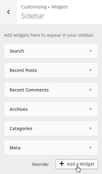 Customize-Widgets-Sidebar