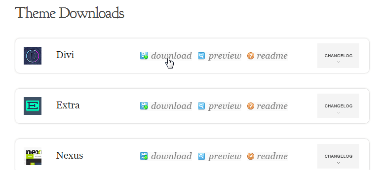 Divi-download