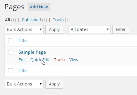 Pages-Quick Edit