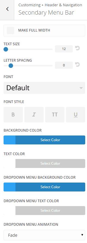 divi-secondary-menu-bar