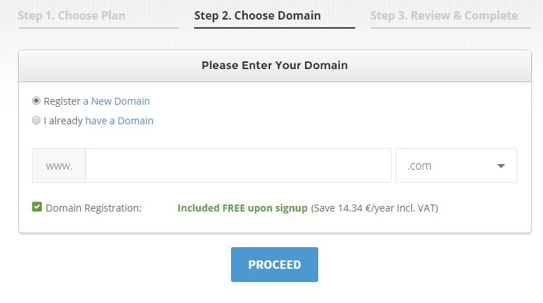 SiteGround-choose-domain