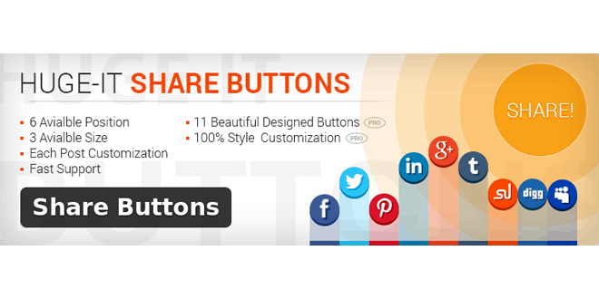 Share Buttons by Huge-IT