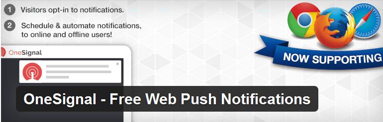 OneSignal Free Web Push Notifications for WordPress