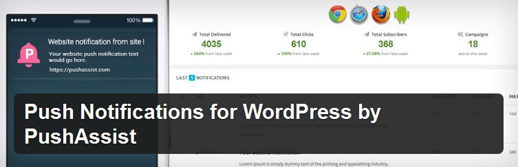 PushAssist - WordPress Plugin