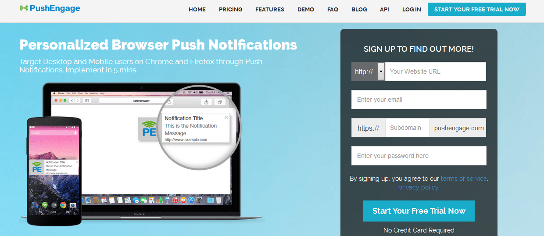 PushEngage - Web Push Notifications for WordPress