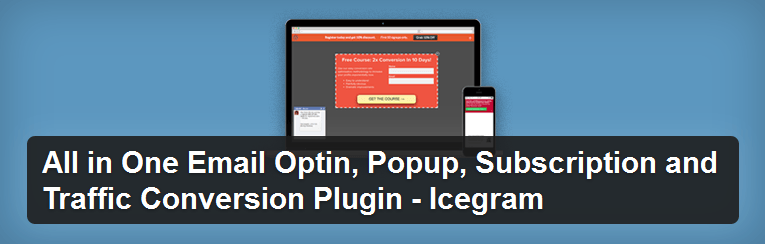 Icegram - a popup plugin for WordPress
