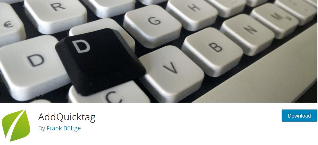 AddQuicktag - WordPress Plugin