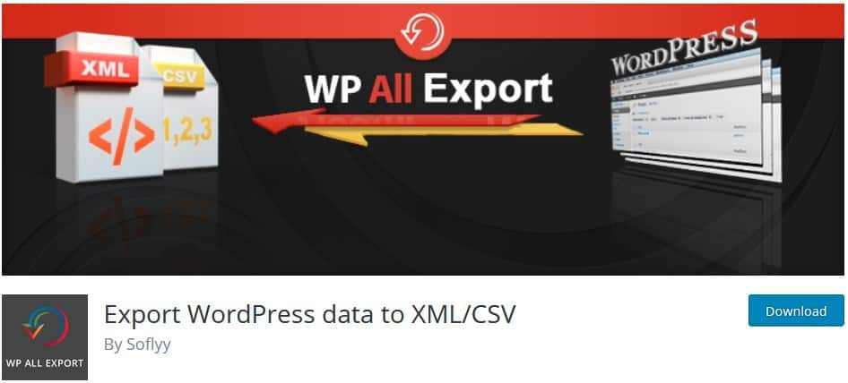 WP All Export - Export WordPress data to XML/CSV - TheCMSPlace